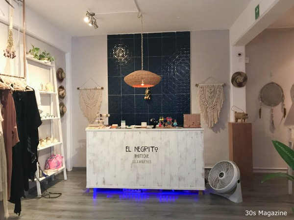 inside El Negrito Boutique