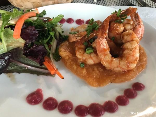 food at Fuego del Mar