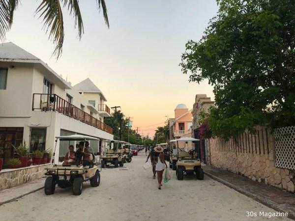 Playa Norte at sundown