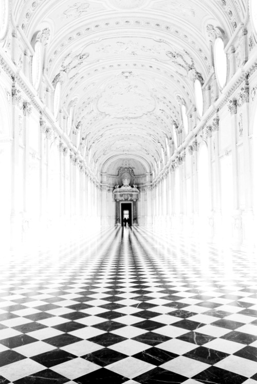 FOLLOW THE CORRIDOR.<br /> IS THERE AN END?<br /> DOES IT CONTINUE ON FOREVER?<br /> OR IS IT JUST AN ILLUSION?