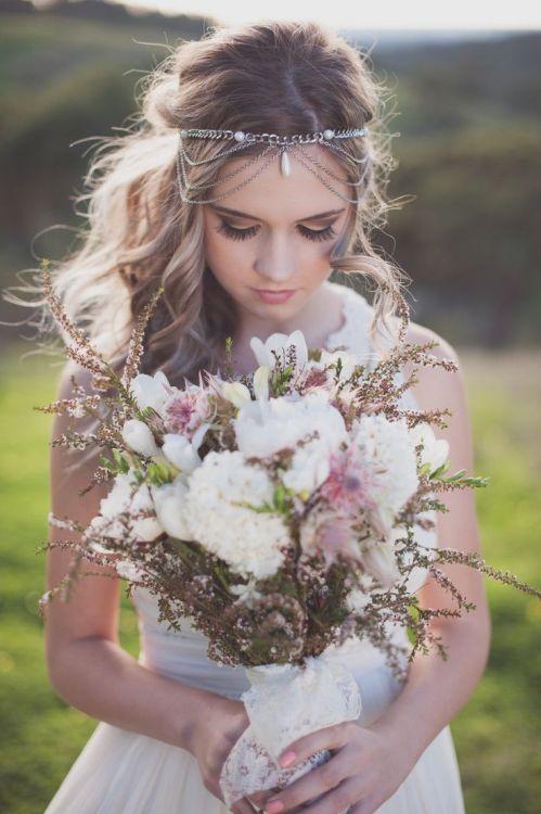 Boho bride themed wedding