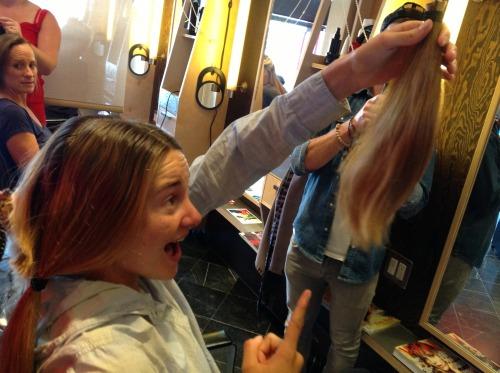 Shailene's hair for Hazel!
