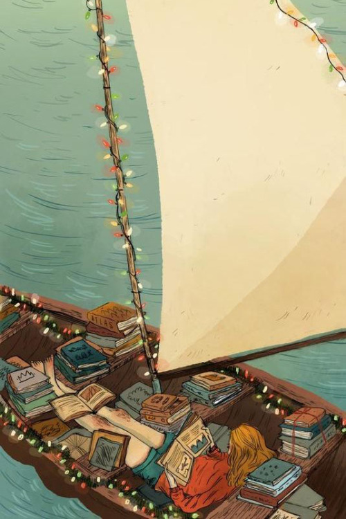 Boats & Books by Natalie Andrewson