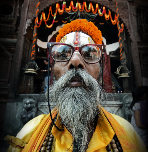 "photographyweek:Sadhu by Mohan Duwal""In Hinduism, a sadhu is a wandering monk. As a sadhu, this man has renounced a 'normal' life to focus on pursuing his spirituality.""View more of Mohan's photography on 500px.Image copyright Mohan Duwal and used with permission.––See the world's most inspirational images every Thursday in Photography Week. Get five free issues today, risk-free, at http://bit.ly/RHzJmN"