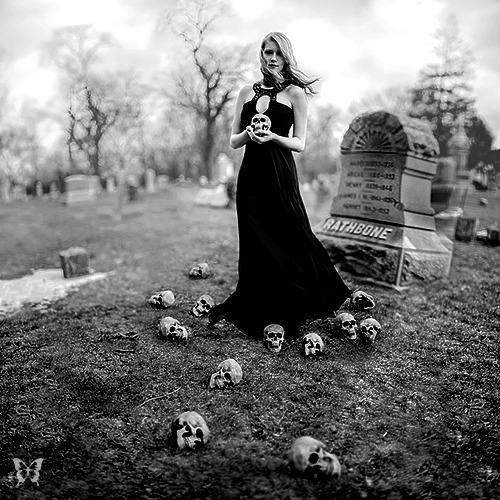 whitesoulblackheart:</p> <p>Boneyard by Dana Marie<br /> The evil that men do lives after them; the good is oft interred with their bones -William Shakespeare</p> <p>The Dead arise with evil in their hearts.<br /> They can be killed by a spell.<br /> Thanks god for witches.<br /> The Dead must be stopped for good.<br /> The Dead Game by Susanne Leist