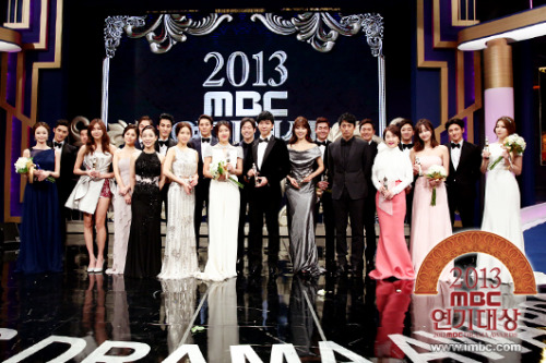 [Official photo] 2013 MBC Drama Awards Group Photo