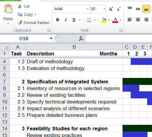 gantt chart example for download