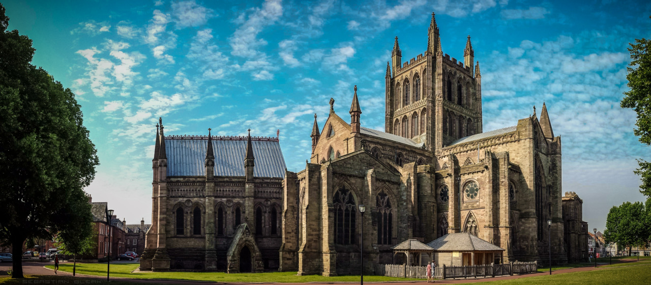 Hereford Cathedral Adobe Photoshop