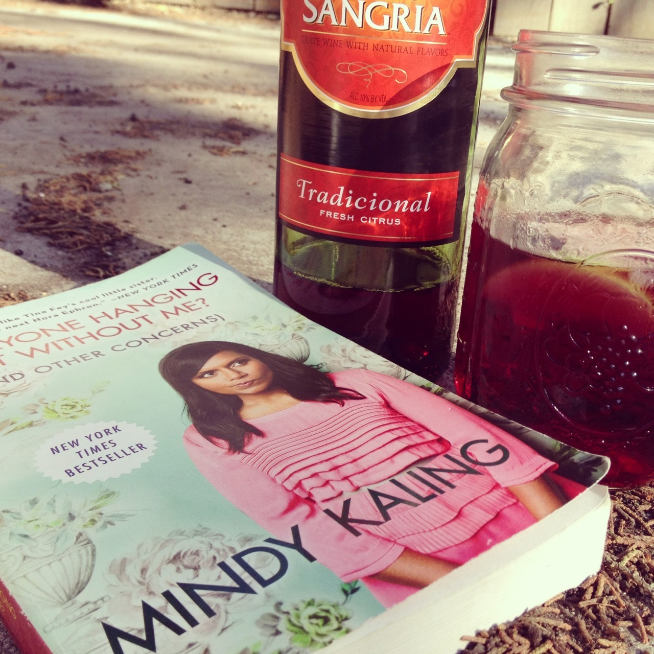 wine and books!
