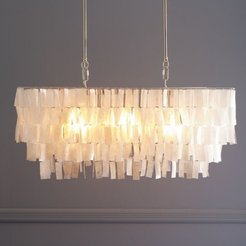 Diy Rope Chandelier Diy nautical chandelier av does what it was the designers own version of a capiz shell chandelier from west elm and a jute rope chandelier from anthropologie audiocablefo