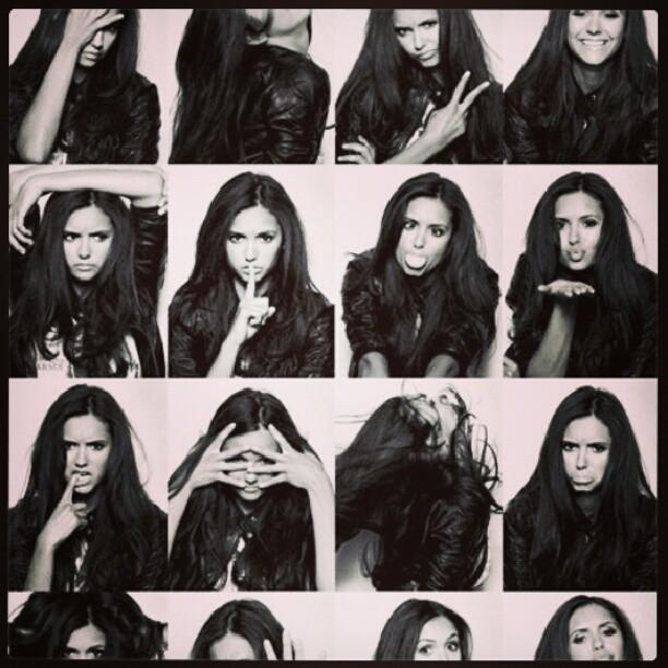 Nina. My next favourite actress after Emma Watson. #NinaSwag