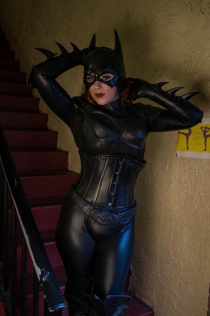Batgirl en Armure