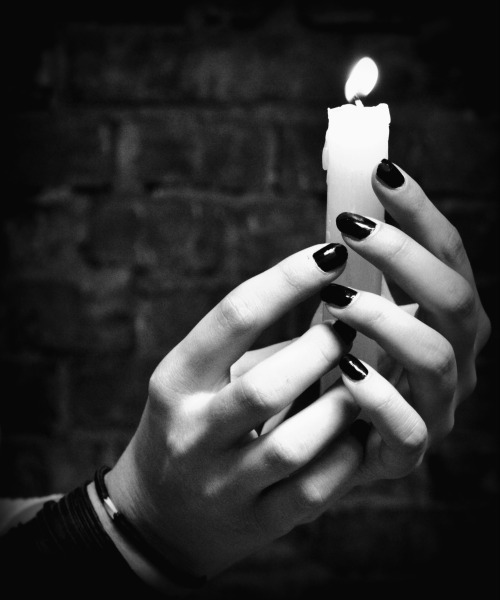 Light the candle<br /> and see where it leads you.<br /> Will it take you out of the darkness,<br /> or lead you further into it?