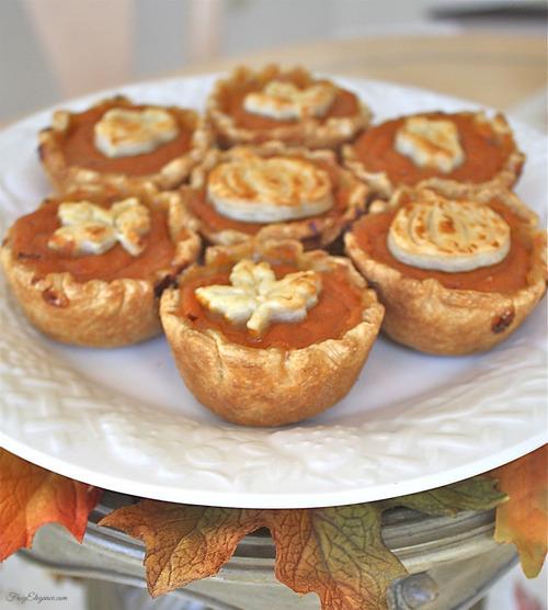 Pumpkin Pie Mini Dessert | FrugElegance | www.frugelegance.com