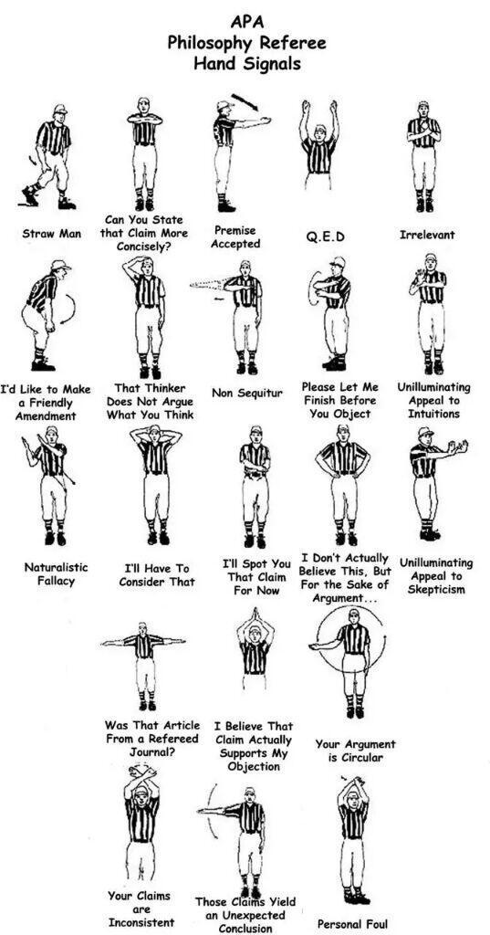 Philosophy referee