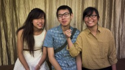 Then there's Eileen, Yanzhao and Pang~