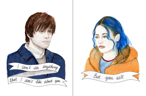 Eternal Sunshine of the Spotless Mind, by ohgoshCindy on etsy