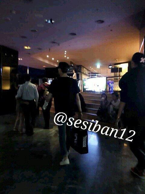 ☆彡sesiban12<br /><br /><br /><br /><br /><br /><br /><br /><br /><br /><br /><br /><br /> Sehun and Tao at the movies two days ago (140425)