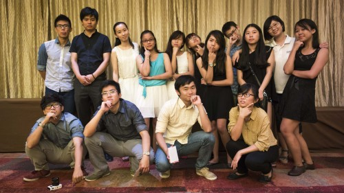 And here's the very last group shot we've got! Bye Tao Ye~ and Zhao Laoshi~