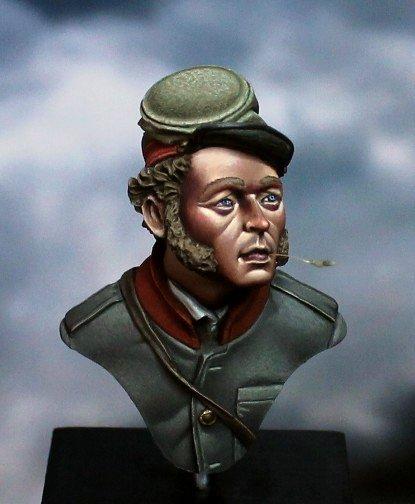 Confederate Artilleryman / H&V Miniatures 1/10
