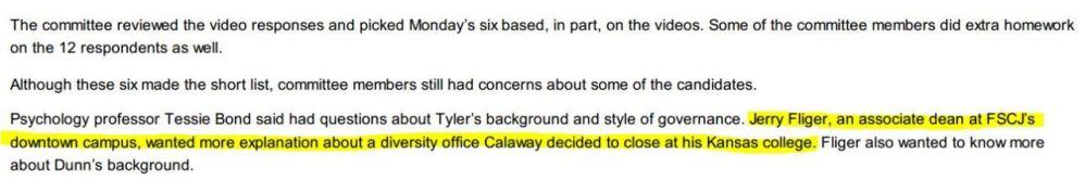 Calaway Faces Diversity Scrutiny (2/2)