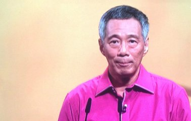 PM Lee at National Day Rally 2013