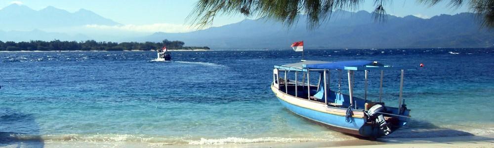 pantai di pulau Ende