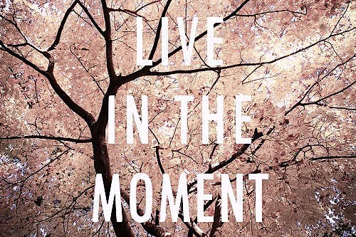 Image result for live the moment tumblr