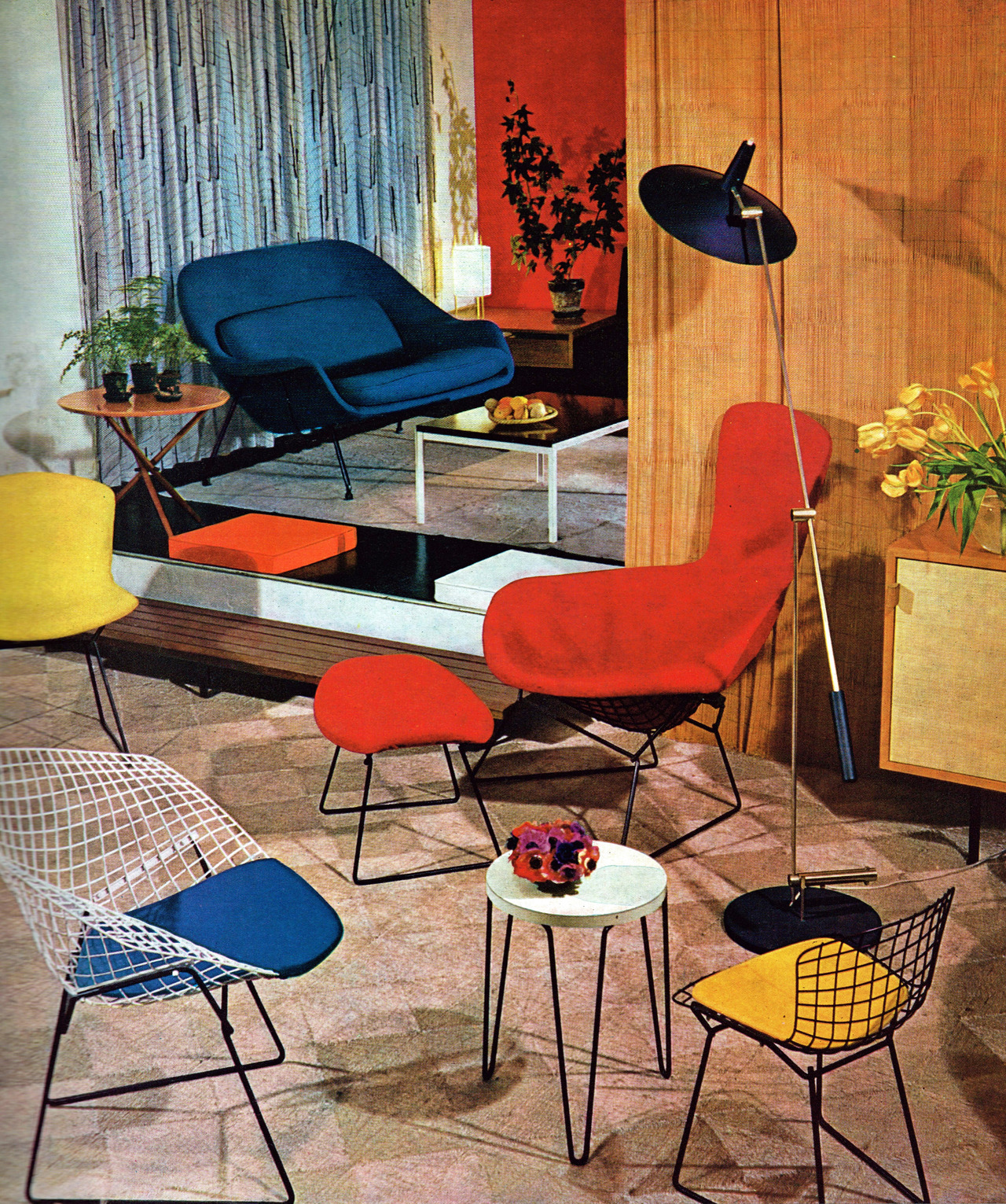 Remarkably Retro Interior Design By Knoll 1963