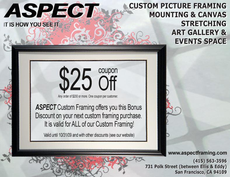 coupon aspect framing