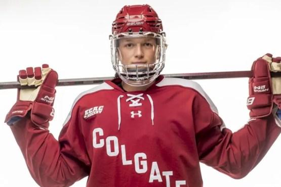 bergsland-named-ecac-hockey-rookie-of-the-week