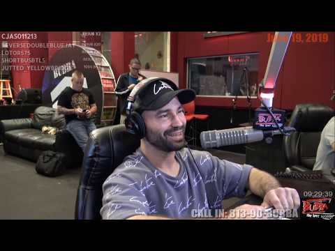 Artem Lobov on the Bubba the Love Sponge® Show