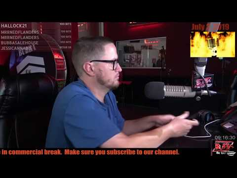 Tuddle dealing with an offended radio listener on the Bubba The Love Sponge show