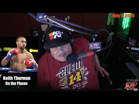 WBA Welterweight Champion Keith Thurman Predicts He Will Knock Out Manny Pacquiao