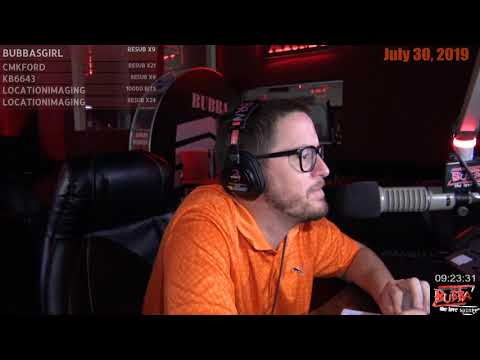 Bubba talks about 98 Rock in Charleston S C