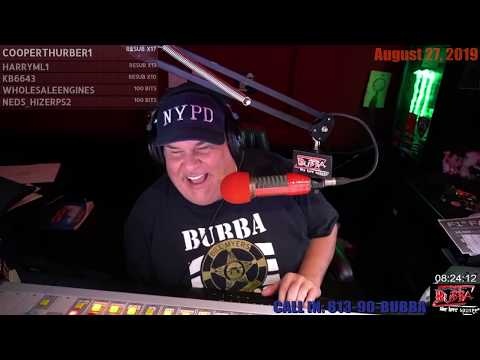 Bubba reacts to the music of B. Morgan