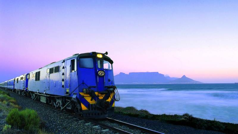 The fabulous Blue Train