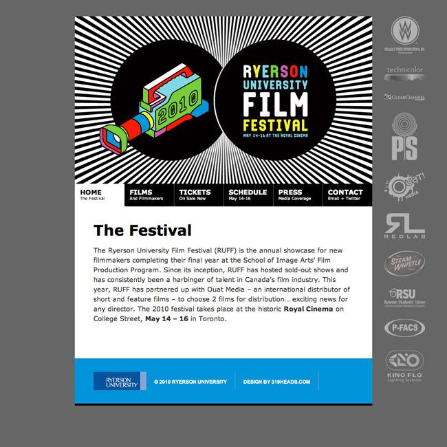 2010 Ryerson University Film Festival