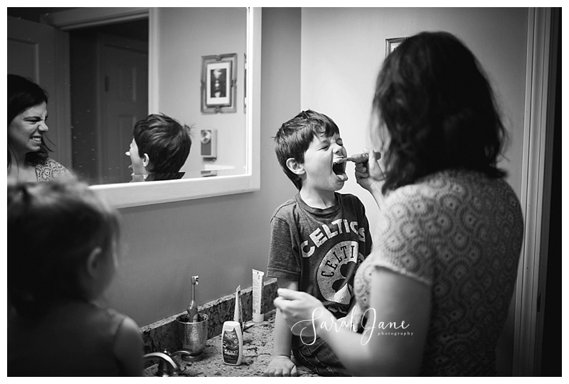 brushing kids teeth wells maine