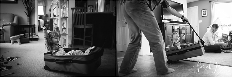 Luggage as a wild ride Sarah Jane Photography