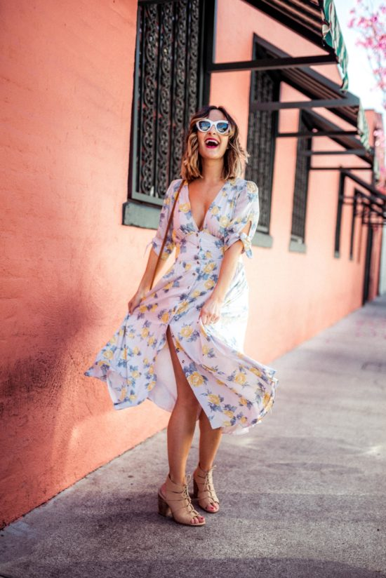 Boho Floral Dresses | Charmed by Camille