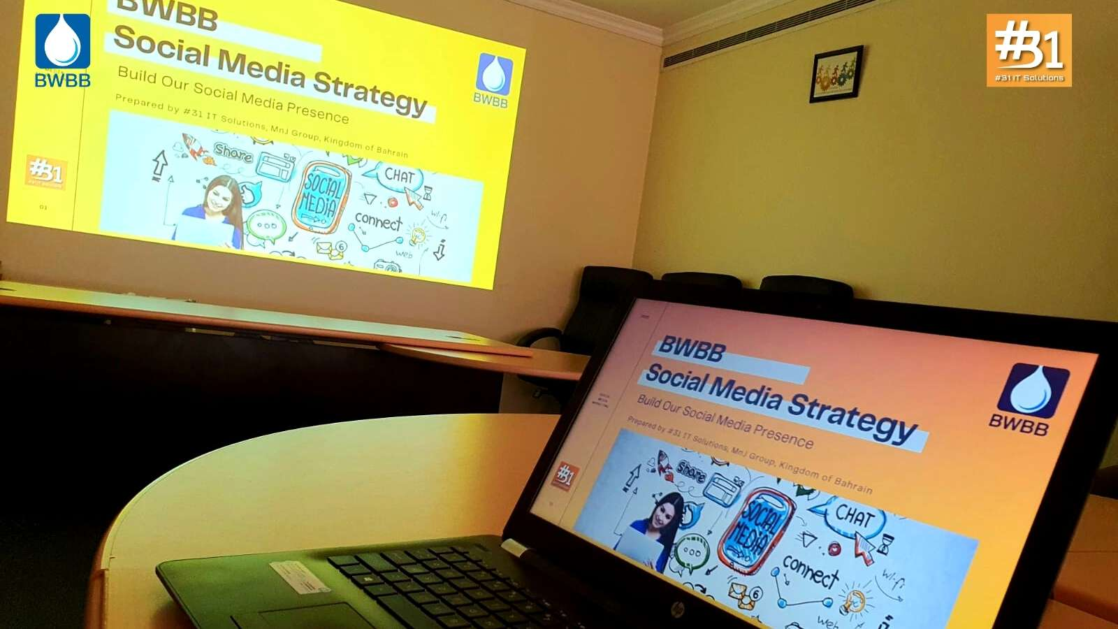Digital Marketing Strategy & Analysis held at Bahrain Water Bottling & Beverages Company S.P.C