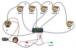 Guitar Effects Pedal Bypass Circuits