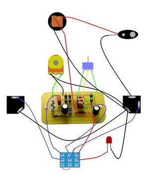 Guitar Effects, Pedal, Bypass Circuits  Electronics