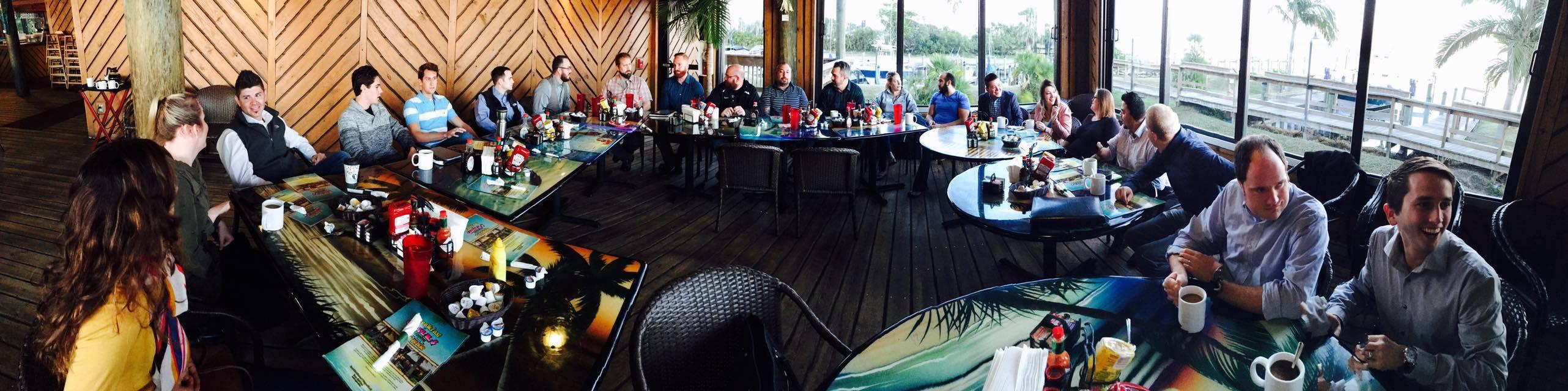Grills Morning Meeting
