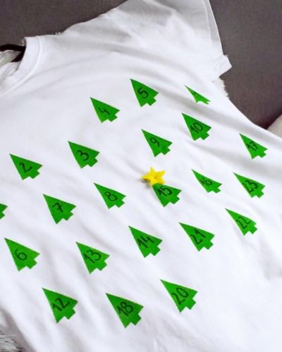 kalendarz adwentowy koszulka