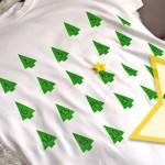 Zaskakujący kalendarz adwentowy DIY na koszulce