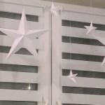 Gwiazda 3D z papieru na dwa sposoby – ozdoba do okna