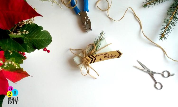 etykiety na świąteczne prezenty