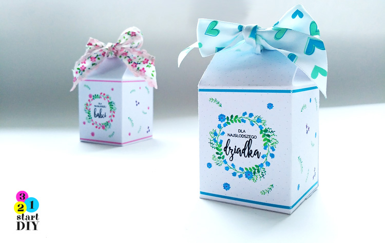 pudełka na słodkości